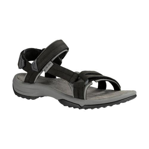 Teva Women's Terra Fi Lite Leather Sandals Black