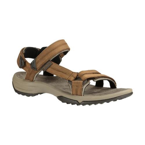 Teva Women's Terra Fi Lite Leather Sandals Brown