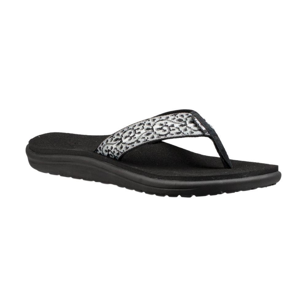 Teva Women's Voya Flip Sandals BLKWHT