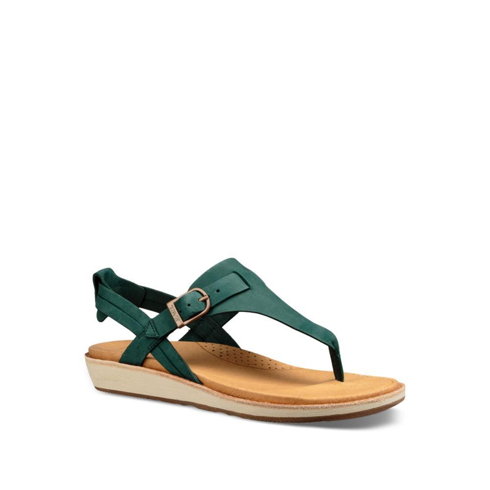 Teva Women's Encanta Thong Sandals FOREST