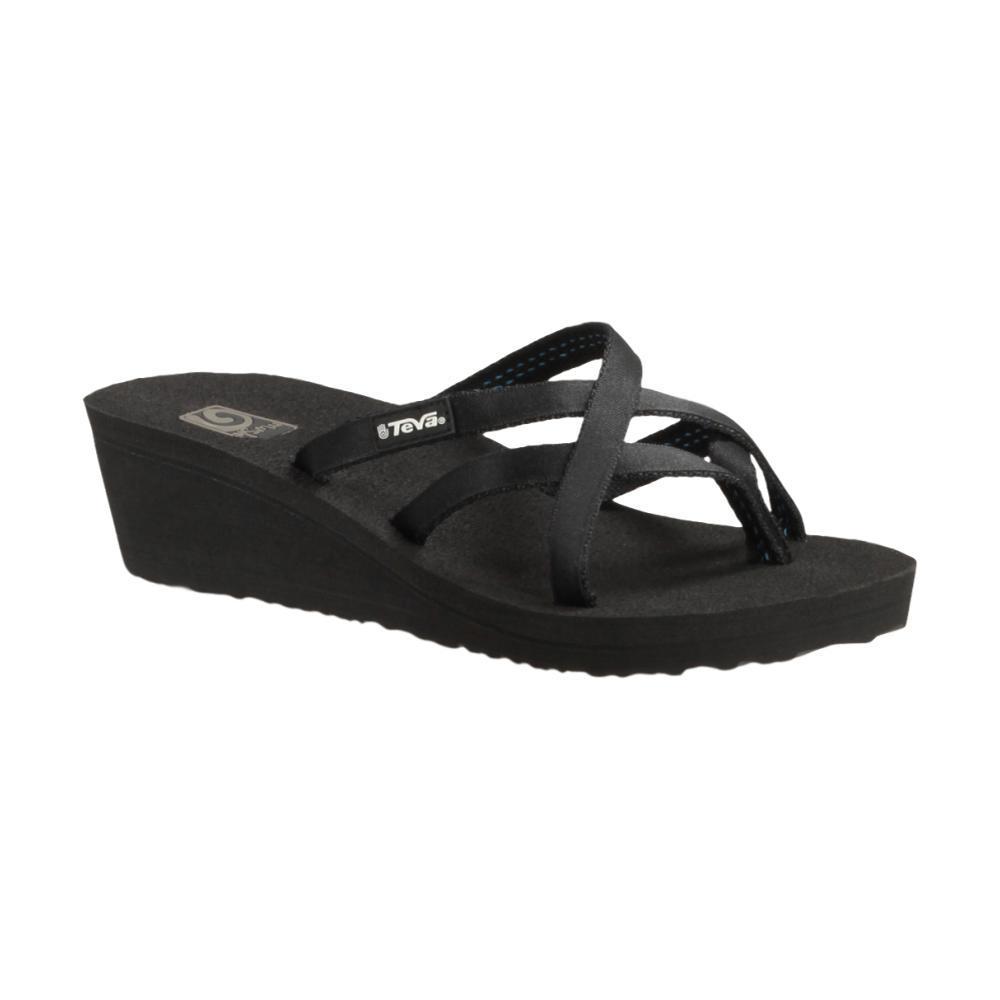Teva Women's Mush Mandalyn Wedge Ola 2 Sandals BLACK