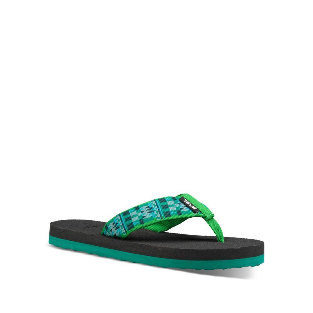 Teva Kids Mush II Flip Sandals ROBGREEN