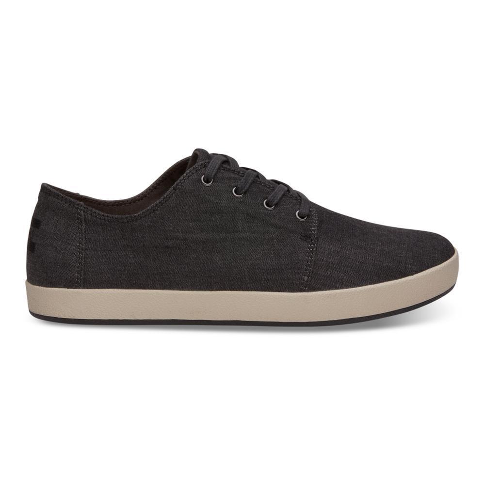 TOMS Men's Black Chambray Payton Sneakers BLKCHAM