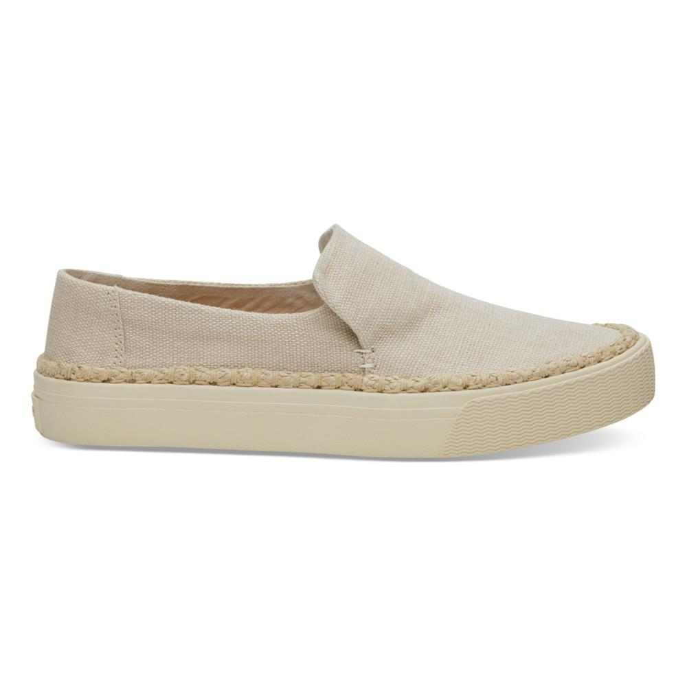TOMS Women's Natural Heritage Canvas Sunset Slip-Ons NATURAL