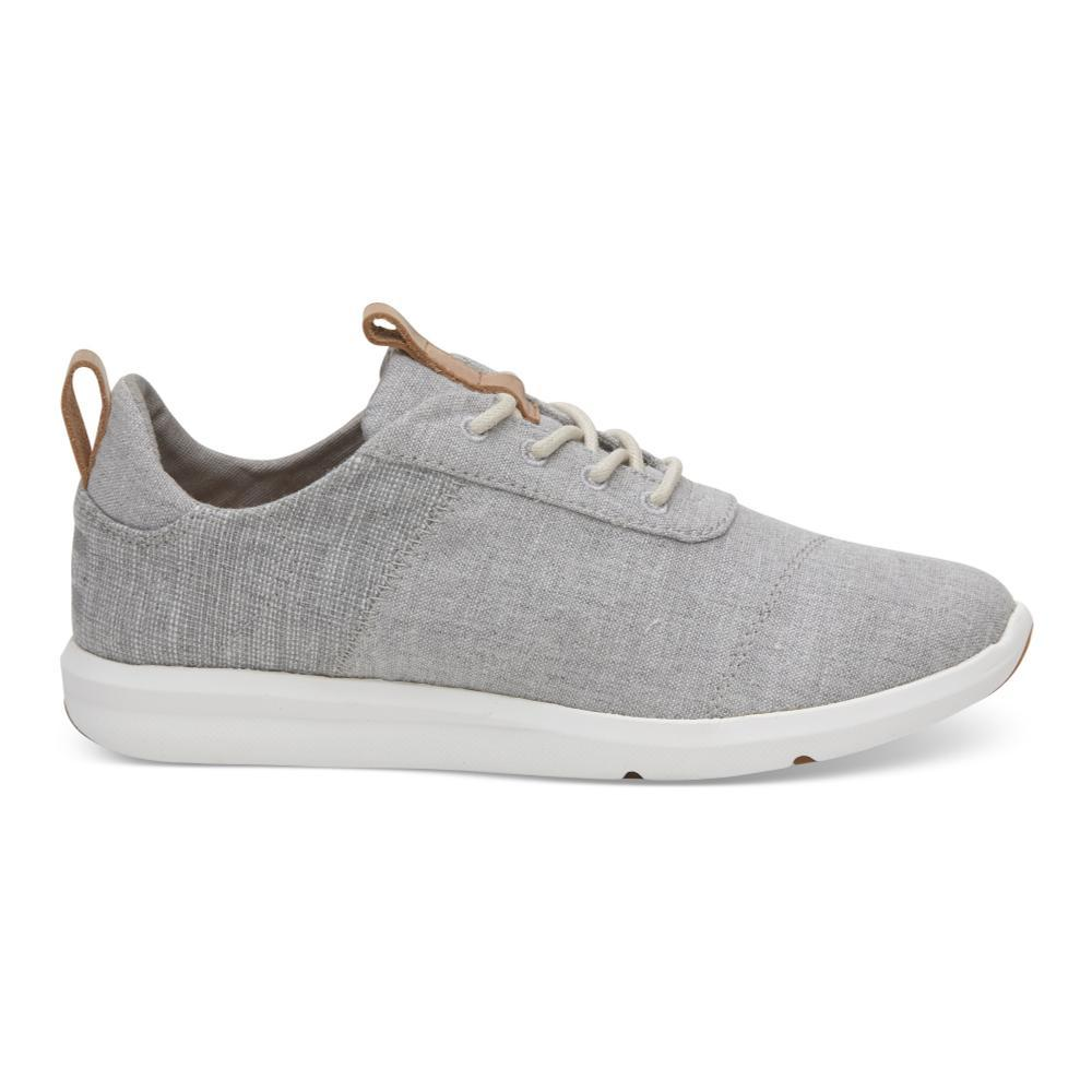 TOMS Women's Drizzle Grey Chambray Cabrillo Sneakers DRIZZCHAMB