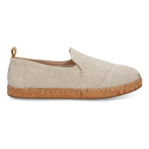 TOMS Women's Natural Hemp Deconstructed Cork Alpargatas