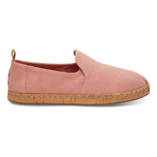 TOMS Women's Bloom Hemp Deconstructed Cork Alpargatas