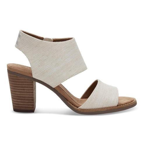 TOMS Women's Majorca Cutout Sandals Natural