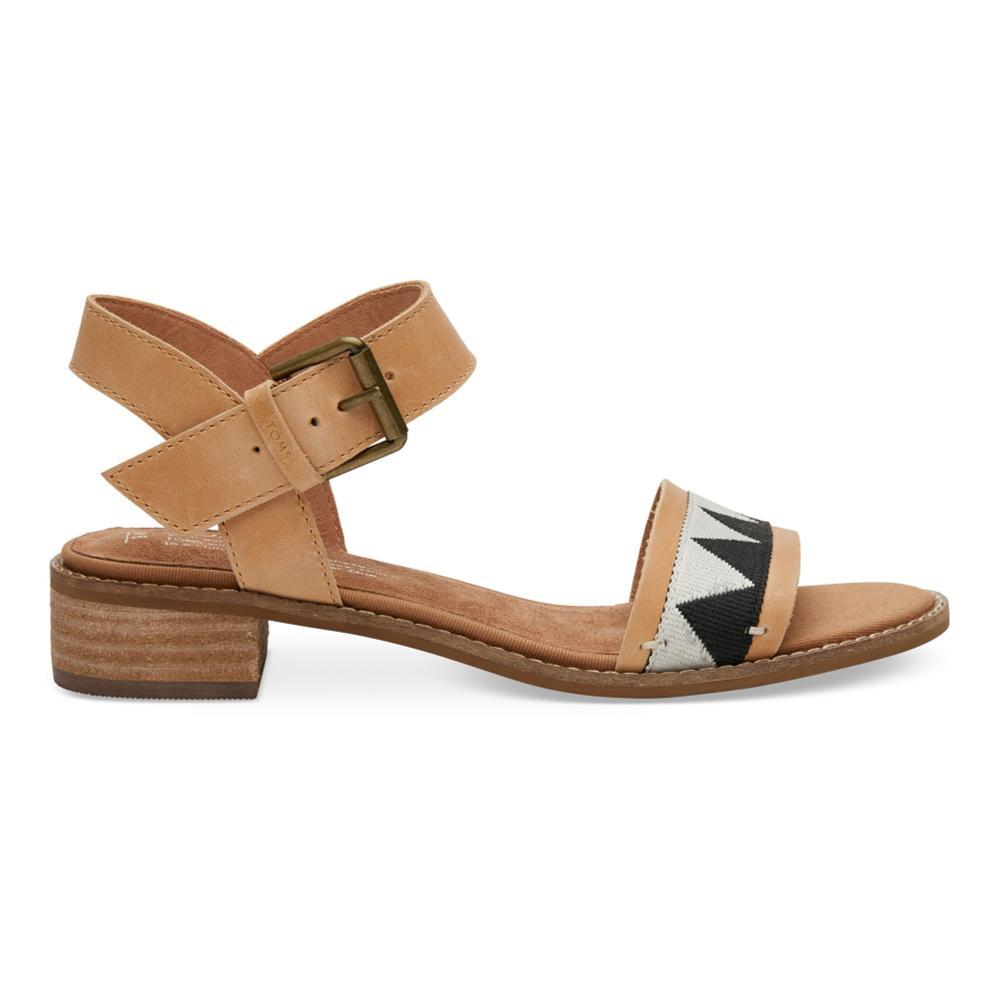 TOMS Women's Honey Leather Camilia Sandals HONEYTRIB