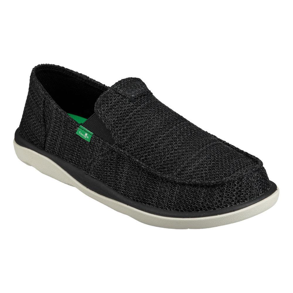 Sanuk Men's Vagabond Tripper Mesh Slip On Shoes BLK