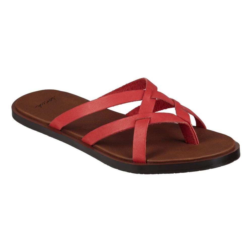 Sanuk Women's Yoga Strappy Slip On Sandals Item # 1019792-TOMA