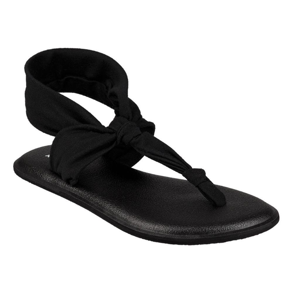 Sanuk Youth Lil Yoga Sling Ella Sandals BLACK