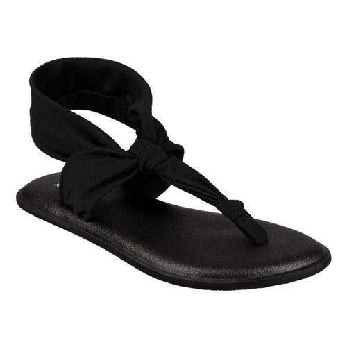 Sanuk Youth Lil Yoga Sling Ella Sandals Black