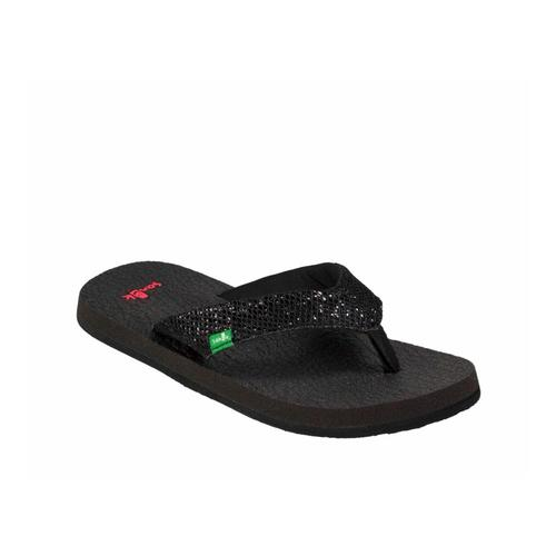 Sanuk Youth Yoga Glitter Flip Sandals