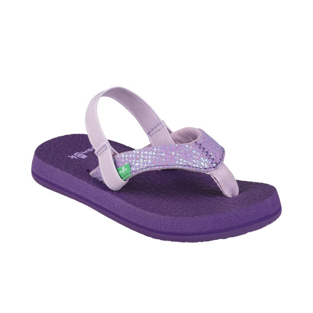 Sanuk Kids Yoga Glitter Flip Sandals