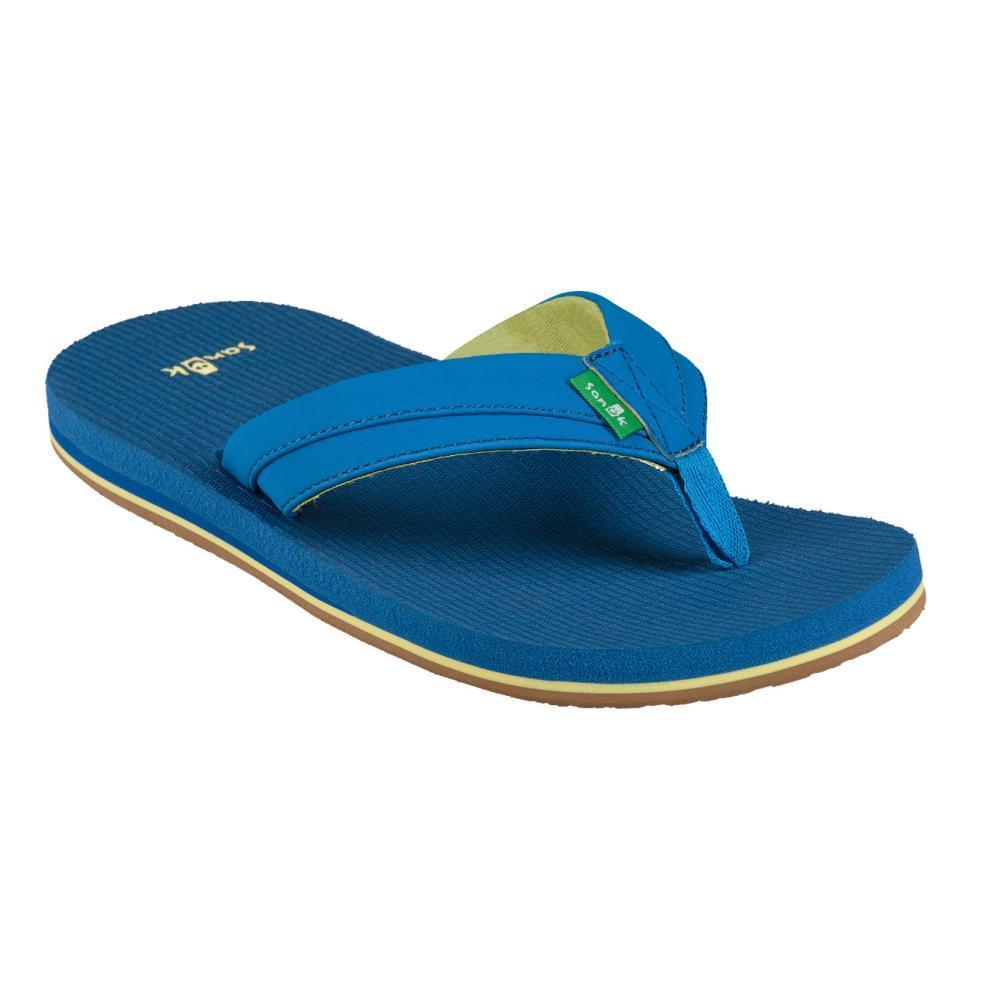 Sanuk Youth Rootbeer Cozy Light Flip Sandals INDIGO