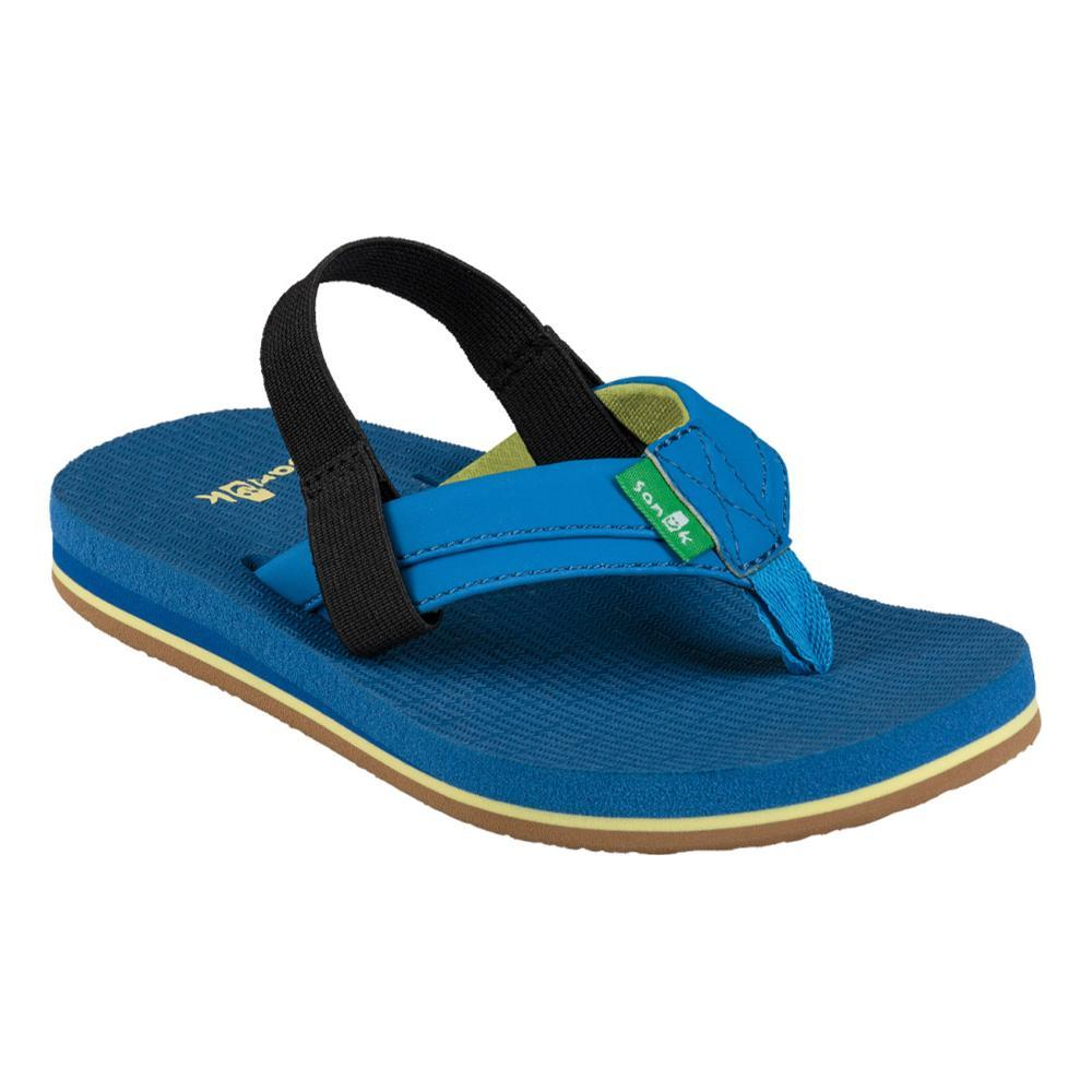 Sanuk Kids Rootbeer Cozy Light Flip Sandals INDIGO