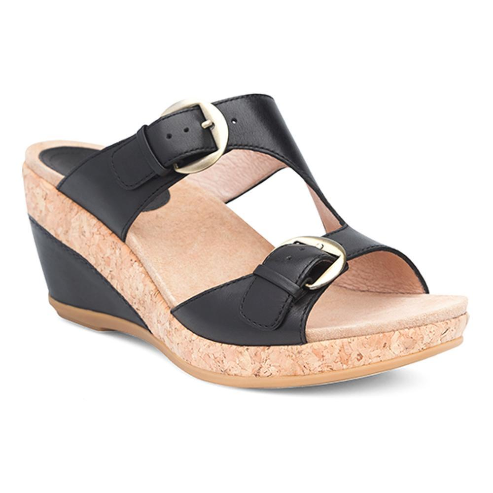 Dansko Women's Carla Sandals BLACK
