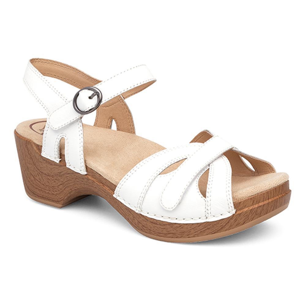 Dansko Women's Season Sandals WHITE