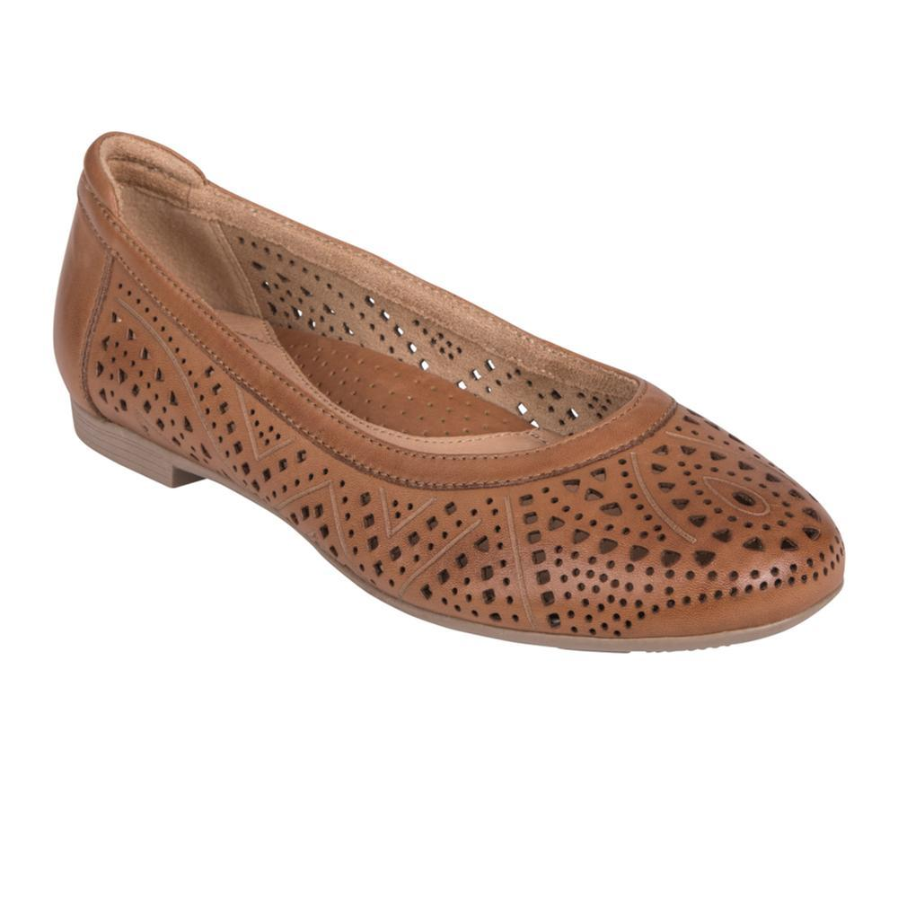 Earth Women's Royale Flats SANDBRWN