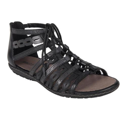 Earth Women's Tidal Gladiator Sandals BLACKMLT