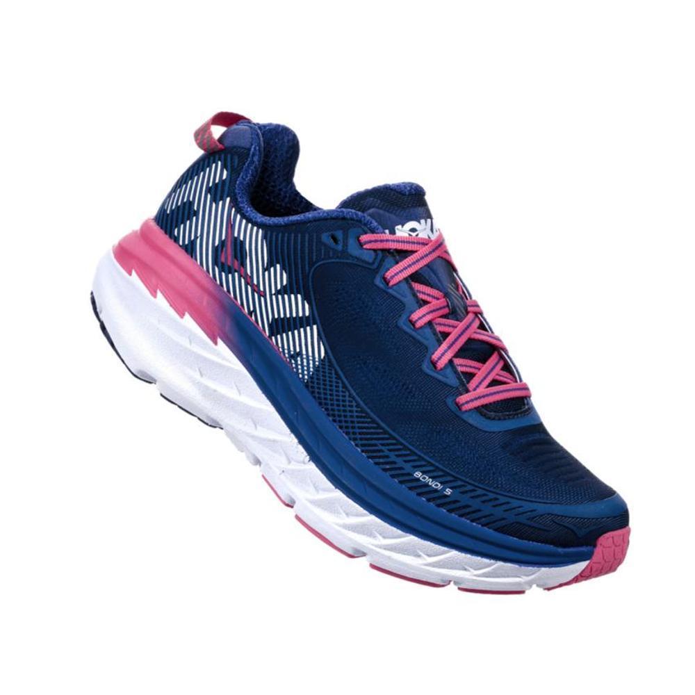 HOKA ONE ONE Women's Bondi 5 Wide Running Shoes BLUEPRINT