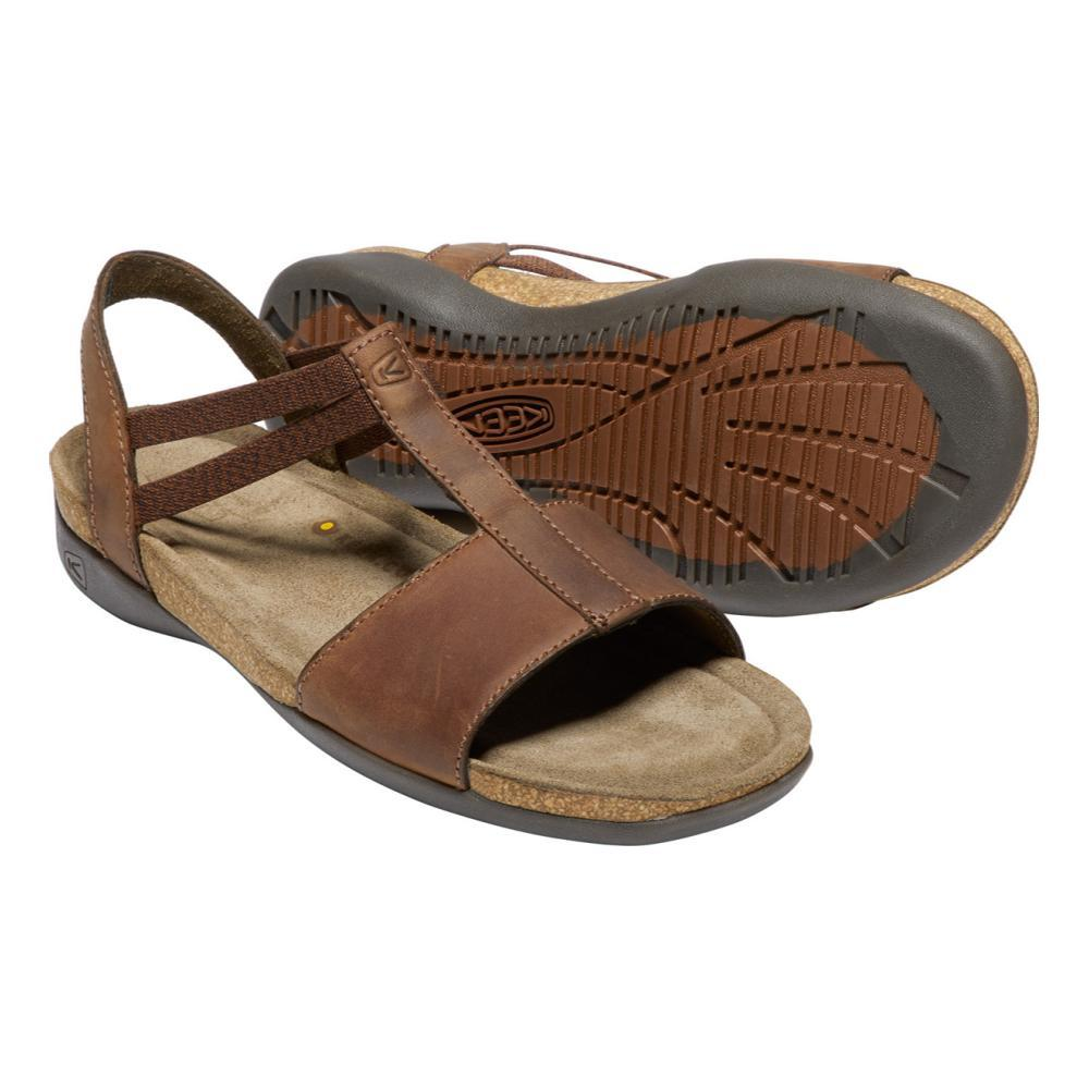 KEEN Women's Ana Cortez T-Strap Sandals ESPRESSO
