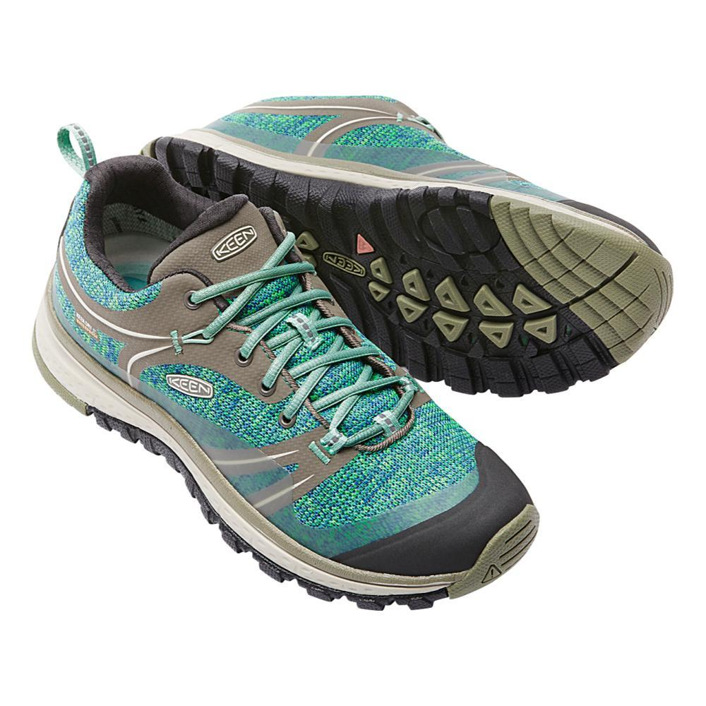 KEEN Women's Terradora Waterproof Hiking Shoes MALACHITE