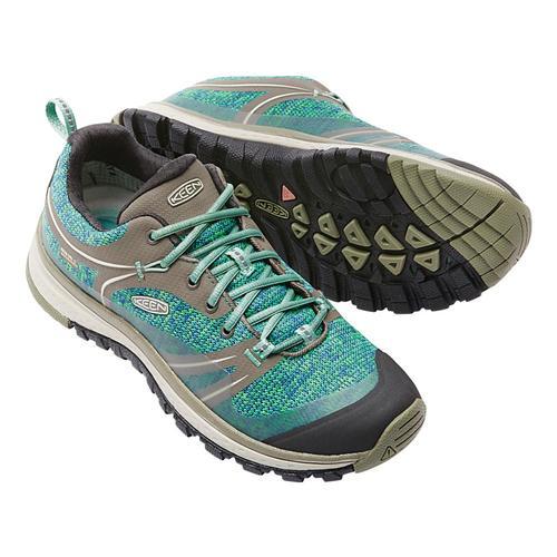 KEEN Women's Terradora Waterproof Hiking Shoes Malachite