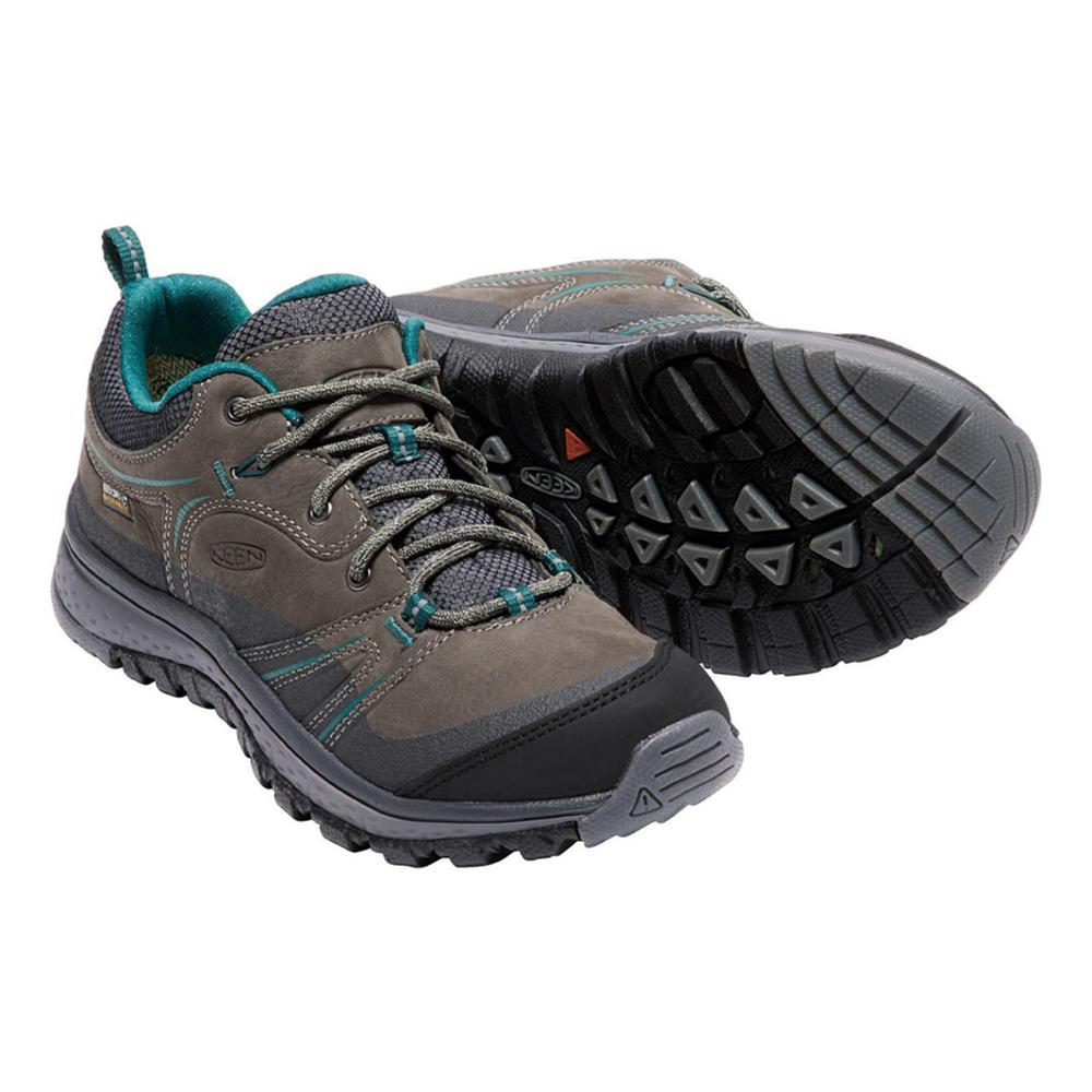 KEEN Women's Terradora Leather Waterproof Hiking Shoes MUSHROOM