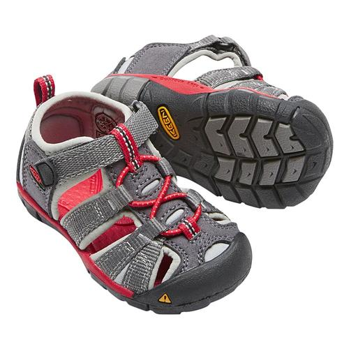 KEEN Toddler Seacamp II CNX Sandals Mgnt_red