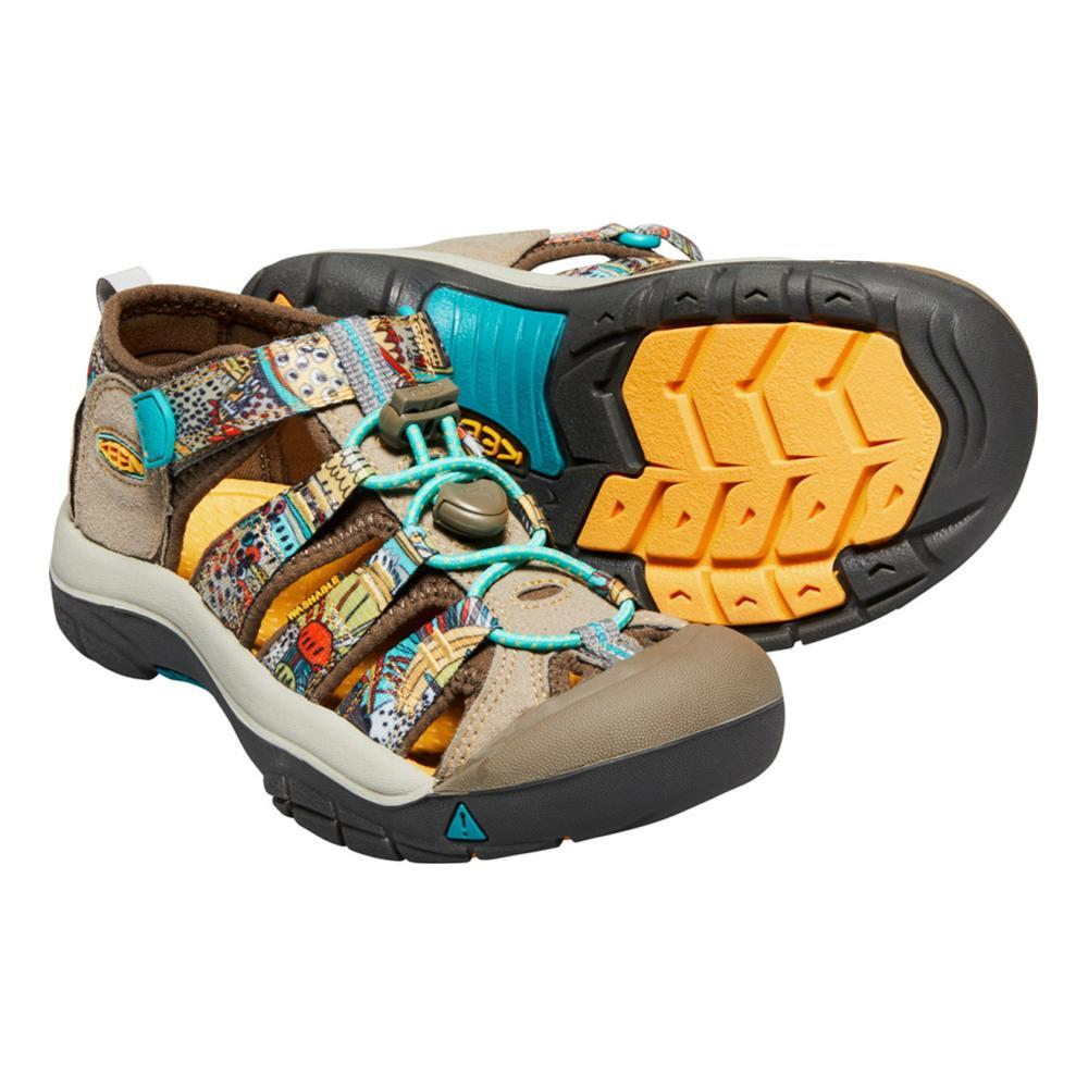Keen Youth Newport H2 Sandals BEESWAXPRNT