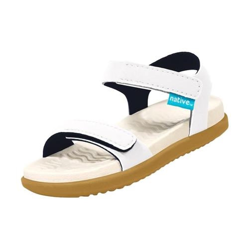 Native Kids Charley Sandals White