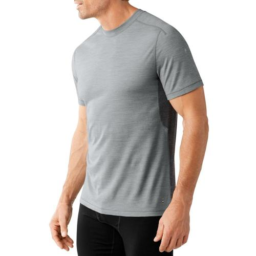 Smartwool Men's PhD Ultra Light Short Sleeve Shirt Lghtgray_039