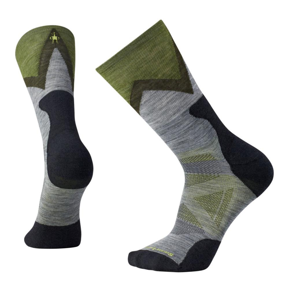 Smartwool Men's PhD Outdoor Approach Crew Socks MEDGRAY_052