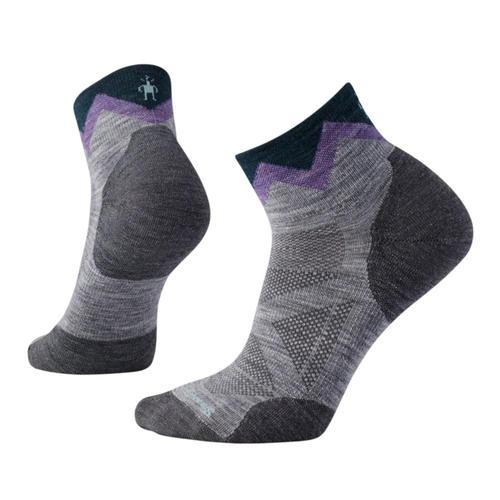 Smartwool Women's PhD Outdoor Approach Mini Socks Ltgray_039