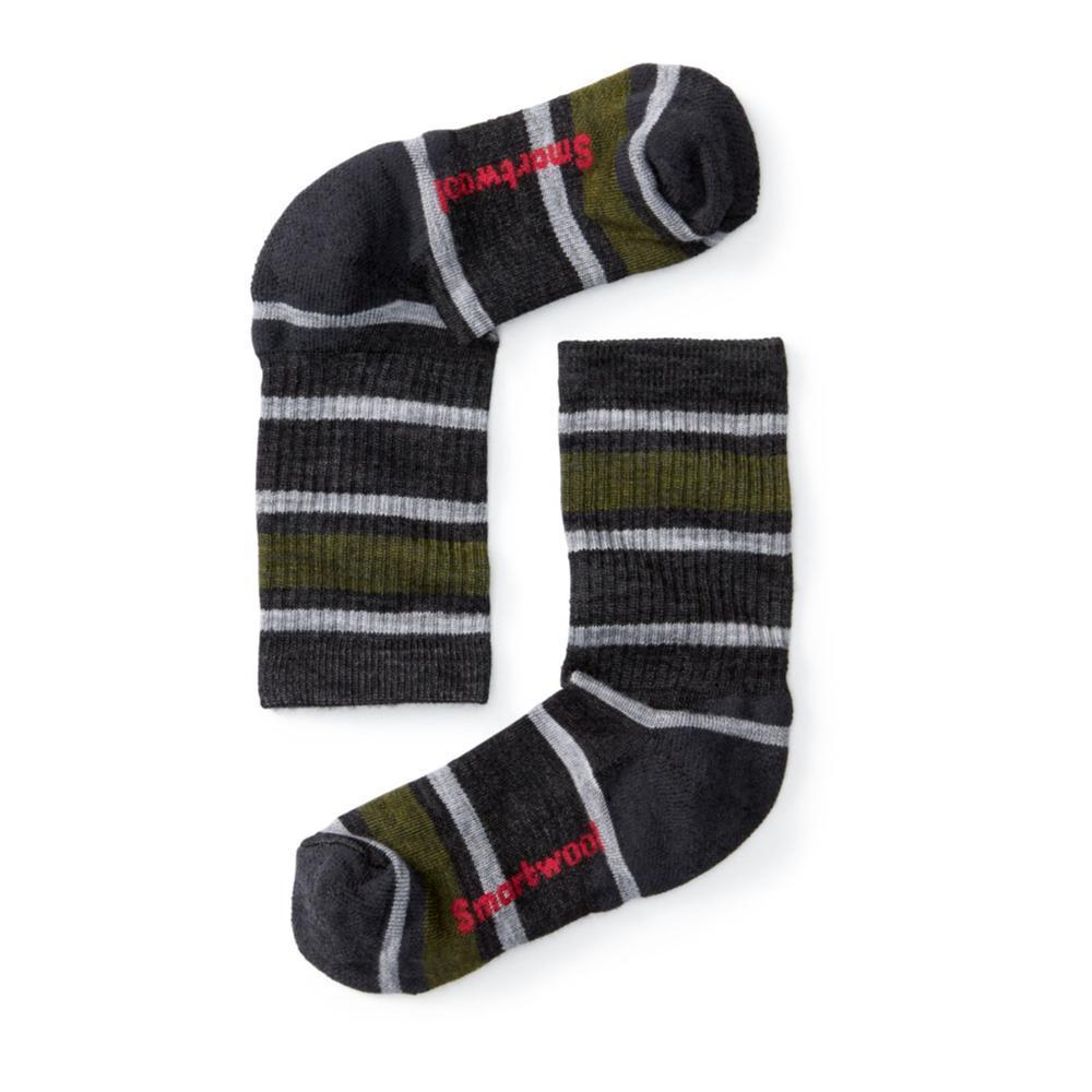 Smartwool Kids Striped Hike Light Crew Socks CHAR003