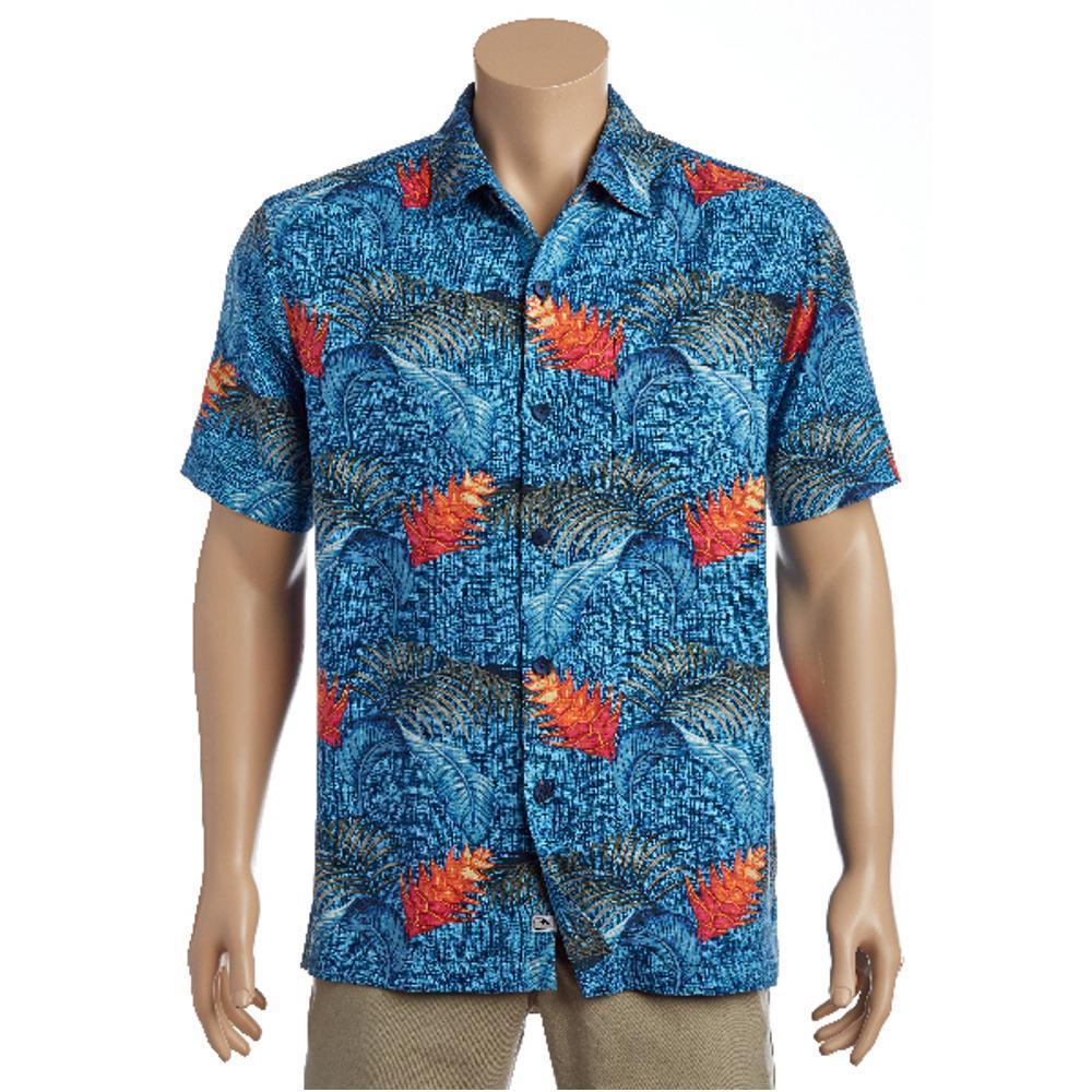 Tommy Bahama Men's Boca Bouquet Short Sleeve Shirt KINGBLUE