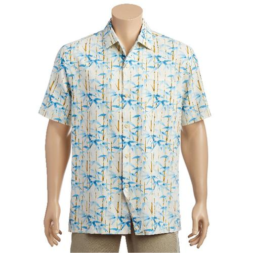 Tommy Bahama Men's Bamboo Forest Short Sleeve Shirt