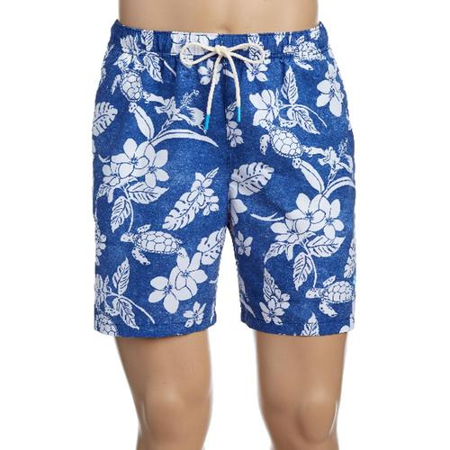 Tommy Bahama Men's Naples Turtle Beach Swim Trunks