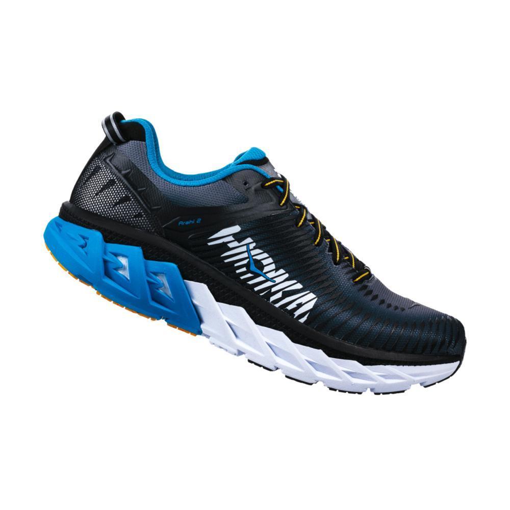 HOKA ONE ONE Men's Arahi 2 Shoes BLK.CHRGRY