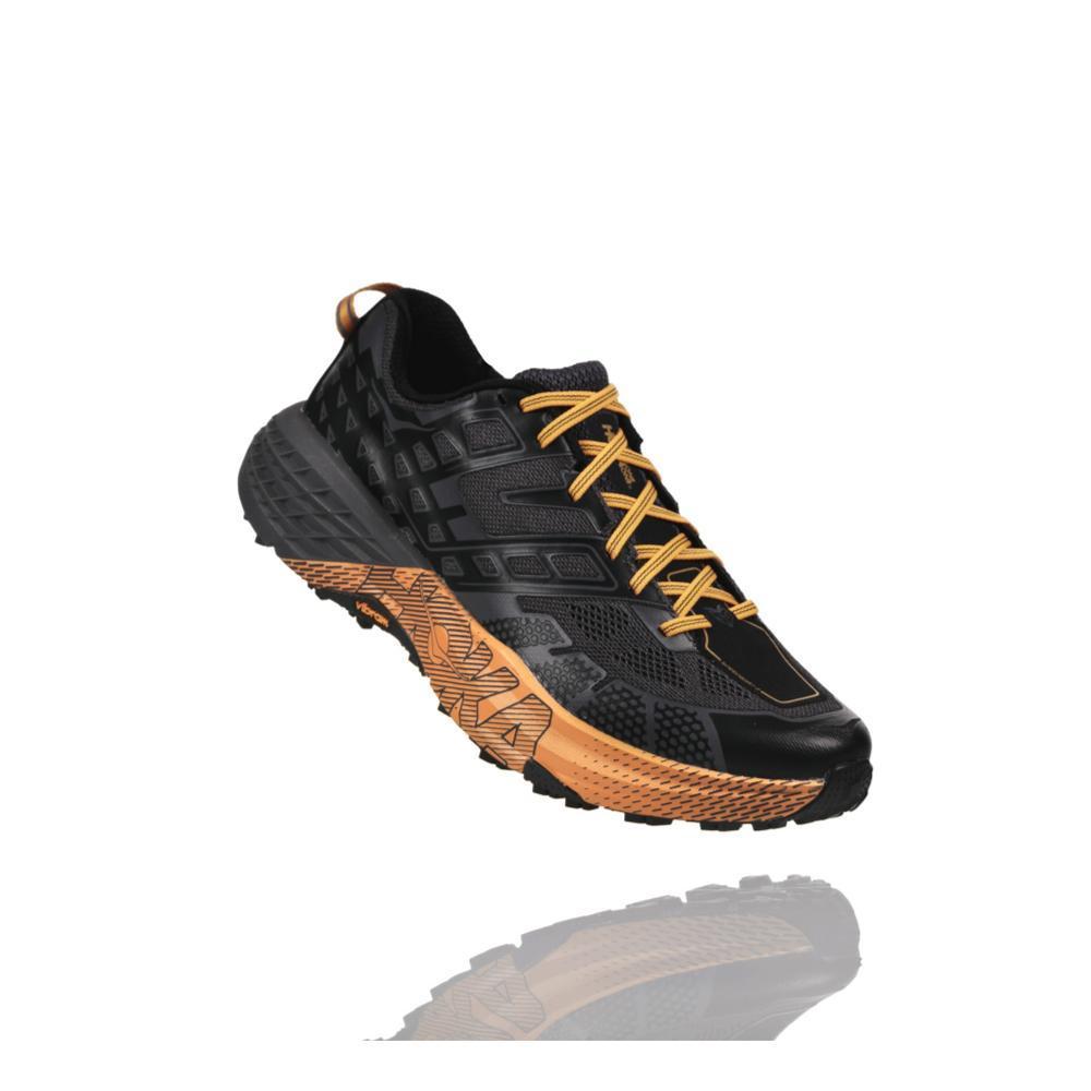 HOKA ONE ONE Men's Speedgoat 2 Shoes BLK.KQUT