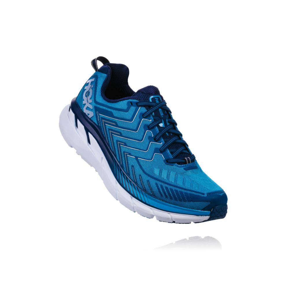 HOKA ONE ONE Men's Clifton 4 Running Shoes TRBLU.JSMGN