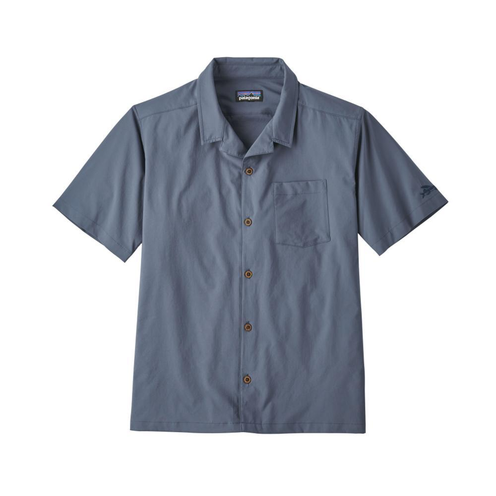 Patagonia Men's Stretch Planing Hybrid Short Sleeve Shirt DLMB_BLUE