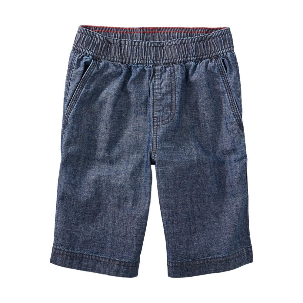 Tea Collection Boys Easy Does It Chambray Shorts BLUE