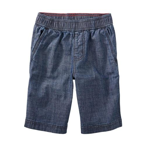 Tea Collection Boys Easy Does It Chambray Shorts