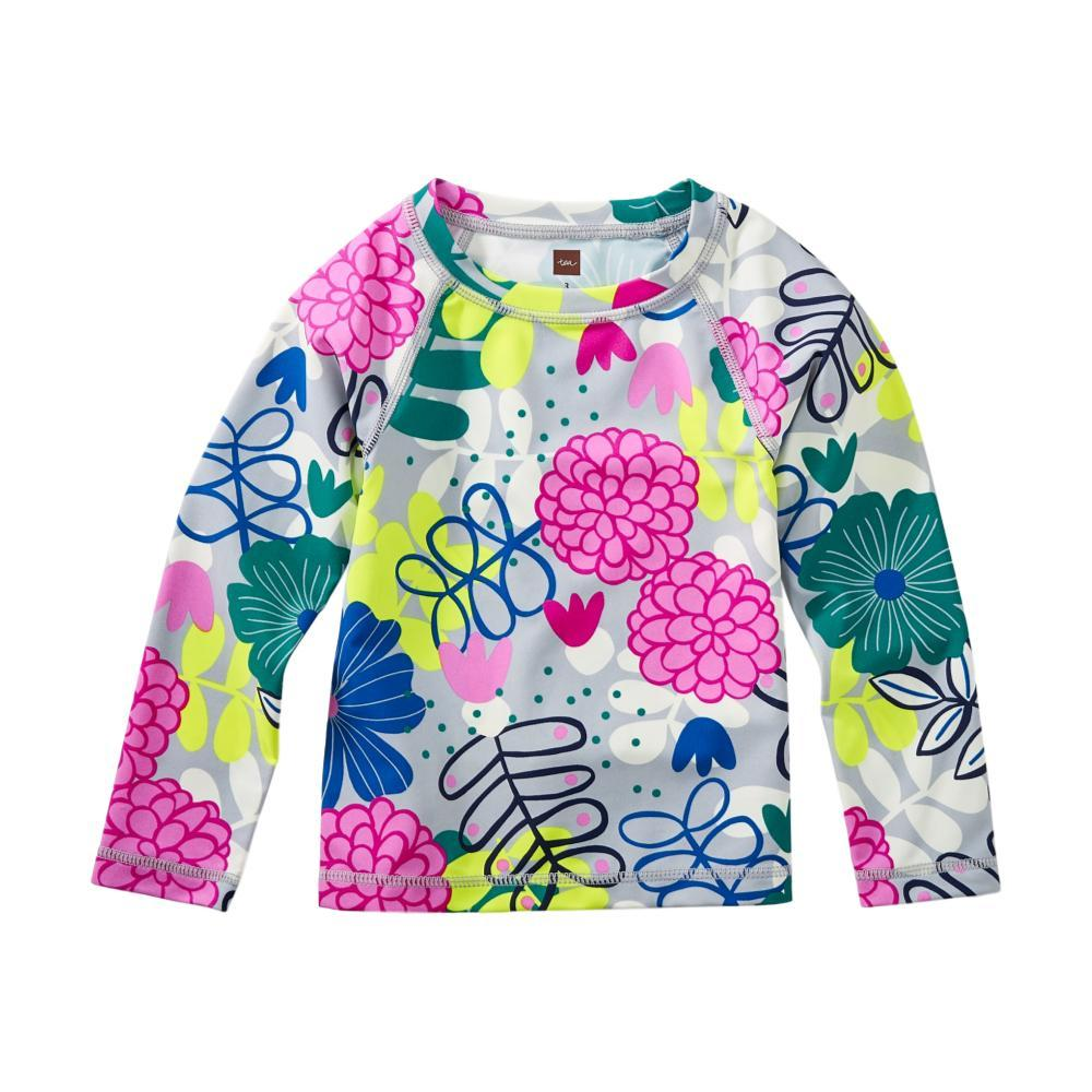 Tea Collection Girls Long Sleeve Rash Guard COLORFUL