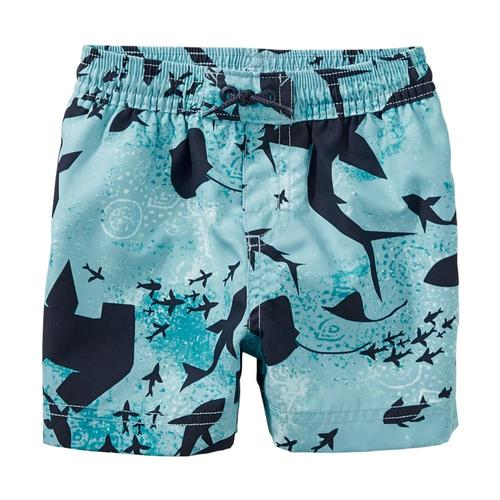 Tea Collection Infant Print Baby Swim Trunks