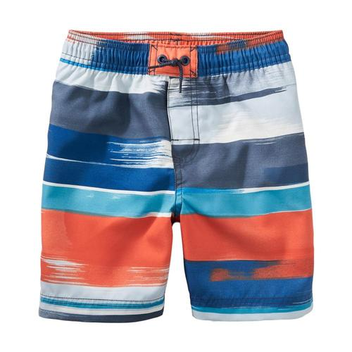 Tea Collection Kids Print Swim Trunks