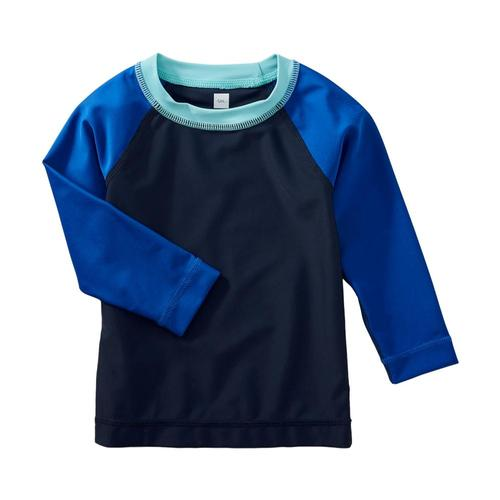 Tea Collection Infant Long Sleeve Raglan Baby Rash Guard